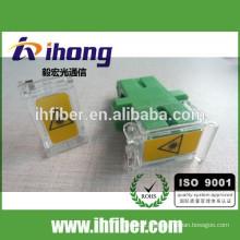 Adaptador de obturador SC de fibra óptica