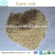 Aditivos de la alimentación animal de la mazorca de maíz del precio de fábrica / de la mazorca de maíz diversos gránulo de mazorca de maíz machacado