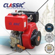 CLASSIC CHINA 186f 8.4HP OHV Generador Motor Diesel Refrigerado por Aire, Inicio Clave Cilindro Diesel Motor Ventas