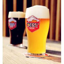Подгонянный логос пива чашки пива творческого дизайна творческий