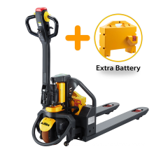 Xilin 1500kg 3300lbs Capacity Electric pallet jack Lithium Electric Pallet truck with Extra Battery
