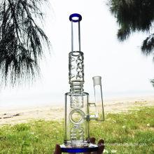 Просвечивающий дизайн кальяна для курения стеклянных курительных труб для воды (ES-GB-290)
