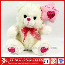 Oso de peluche de la tarjeta del día de San Valentín / osos de peluche mini del felpa / pequeño oso de peluche de la felpa