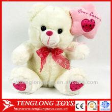valentine teddy bear/plush mini teddy bears/small plush teddy bear