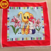 Toalla de los niños al por mayor de la microfibra de China, mini toalla de los niños, toalla del bebé