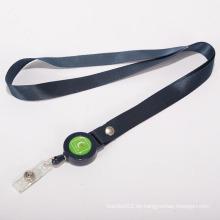 Lanyard retractable de alta calidad / cuerda de poliéster
