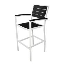 Polywood Outdoor-Möbel aus Aluminium Terrassenbar Set Hocker Stuhl