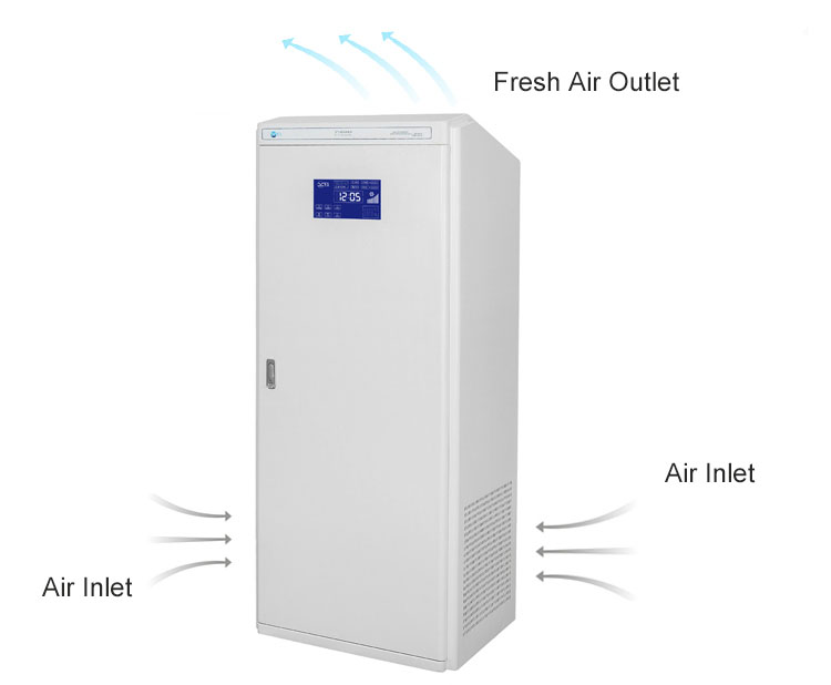 Cabinet Type Air Sterilizer Purifier Cleaner 11