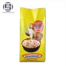 Sacs d'emballage de riz 10KG 25KG pour la vente de riz basmati