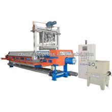 Volle automatische Hochdruckhydraulische pp. Kammer-Filterpresse mit Waschsystem
