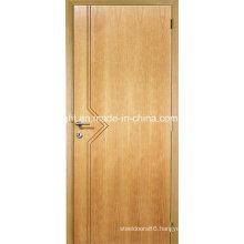 Home Elegant Water Resistant Melamine Skin Wooden Main Door Design