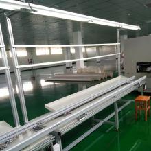 Chip PCB Assembly Line Equipo de cinta transportadora de aluminio