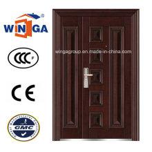 Nizza Design 1200mm Größe Stahl Sicherheit Metall Tür (W-SZ-01)