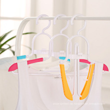 Faltbarer Kleiderbügel Kunststoffklapp Kleiderbügel Reisehänger