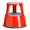 Metal Mobile Step Stool for Home Stool Steel Ladder Step Stools