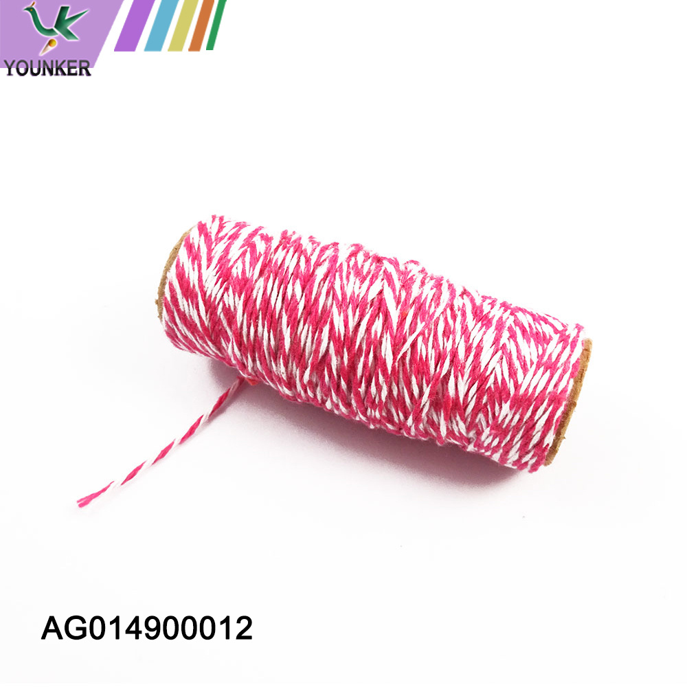Colored Cotton Rope For Diy Decoration