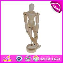 Adjustable Wooden Manikin Toy Wholesale, Wooden Drawing Manikin, Artist Wooden Manikin, Manikins Hand, Wooden Craft W06D041-B