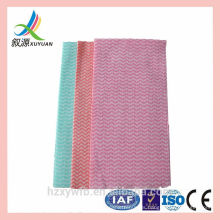 Spunlace nonwoven kitchen towels