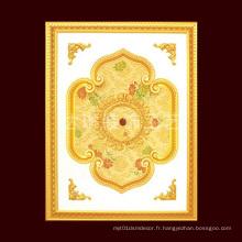 900 * 1200mm Médaillon de plafond installé facilement pour le marché des États-Unis