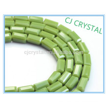 glass crystal beads,2015 popular rectangle beads,cheap glass beads