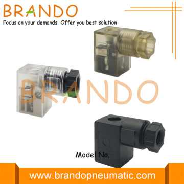MPM 8.0mm DIN 43650 Form C Valve Connector