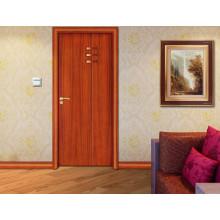 Cheapest PVC Fresh Style Design Simple Bedroom Door Designs