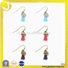 Fashion and New Design Handmade Silk Earring Tassel for Decoration