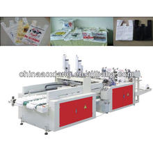 automatic double row high-speed vest bag bag making machine