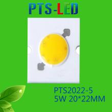 5W/7W AC COB LED alta qualidade 110V 220V