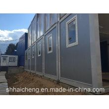 Casas de contenedor plano chino