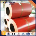 Prepintado Galvalume Color Coated Steel Coil Color rojo