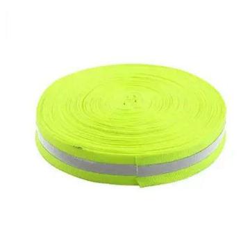 45м Длина 2,5 см Ширина зеленый серебро безопасности светоотражающие ленты