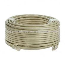 Câble Ethernet UTP CAT 6 RJ45 RJ Réseau 45 fils - 100 FT Gris