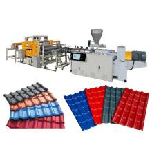 Linha de Produção de Telhas Vitrificada PVC + ASA