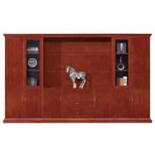 Cabinet de rangement en bois combiné gratuit anti-style avec tiroirs (FOH-AMA102)