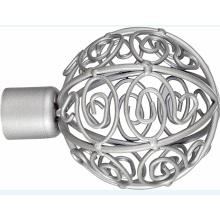 Fleur ballon rideau métallique Tube fleuron