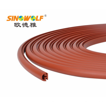 PVC Plastic Profile Edge Banding for Furniture
