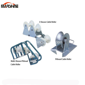 Three Sheave Cable Roller en Pithead Cable Roller