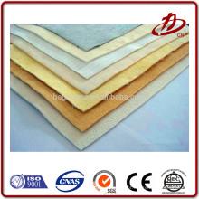 Air slide tecido poliéster 0,3 mícron pano de filtro