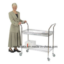 Adjustable Metal Service Cart/Utility Cart for Hospital (TR904590A2CW)