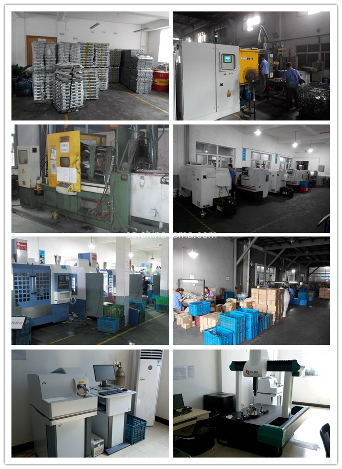 Production of aluminum and zinc die casting parts
