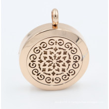 Nouvelle arrivée Custom Made Oil diffuseur médaillon pendentif pour collier bijoux