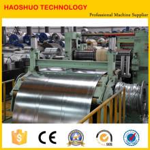 Machine de refendage de bobines/feuilles en aluminium