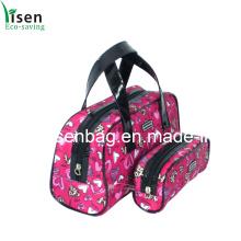 Moda mais recente padrão projetado saco cosmético (YSCOS00-027)