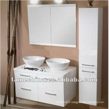 White wood bathroom cabinet/vanity/furniture