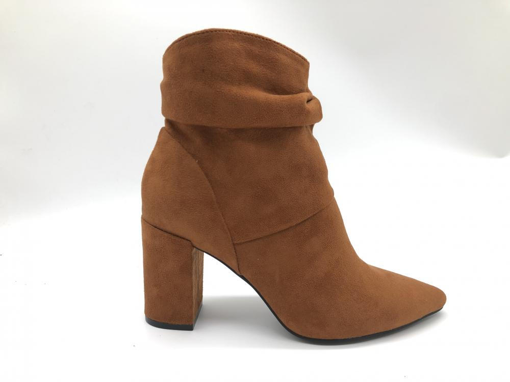 Damen Stiefel Pointed Toe Winter Ankle Bootie