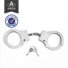 Polícia Militar Algemas de metal com bloqueio duplo