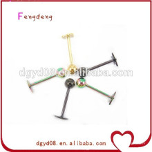 Hot Atacado jóias de aço inoxidável Moda Body Piercing Jóias Corpo Jóias Fazendo Suprimentos