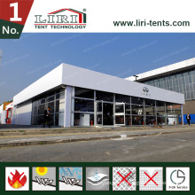Inflatable Roof Double Decker Tent with Glass Walls for High Class Events