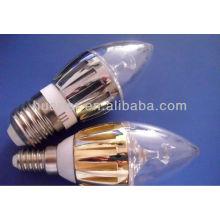 220V Lumière Lumière LED candélabre e26 pour candel light lampes Candel Light